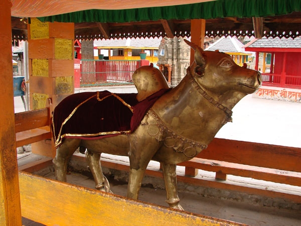 Lord Nandi bull Temple
