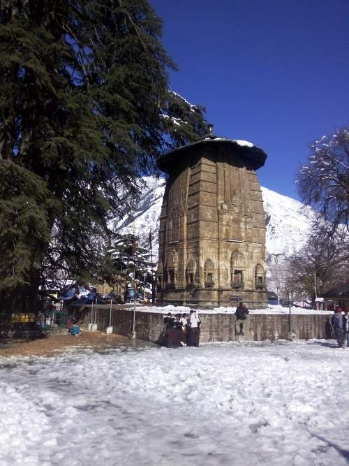 Lord Shiva temple at 84 Temple complex Bharmour
