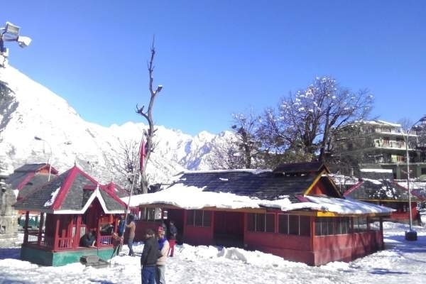 Shrines at 84 Temple complex Bharmour