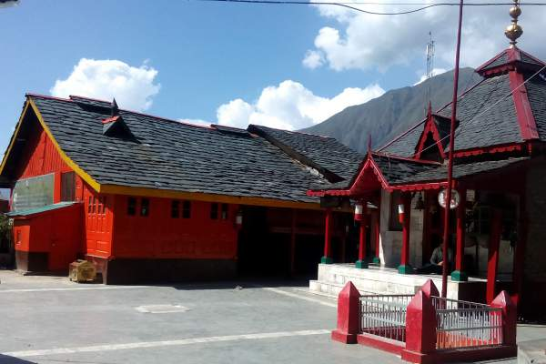 dharamraj temple at 84 temple comlex in bharmour