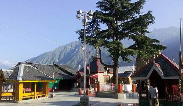 Few temples at 84 temple complex Bharmour
