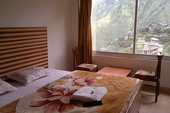 hotel bharmour view room min