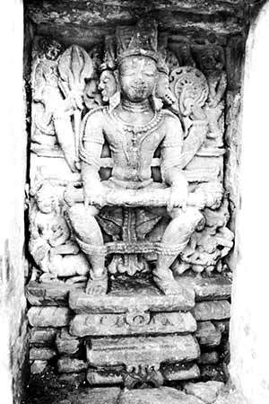 HARI-HAR HIRNYAGARBHA Sculpture at Baijnath Temple
