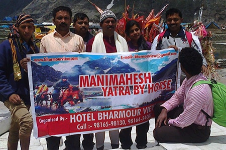 hotel bharmour view group at manimahesh by horse min