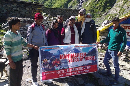 hotel bharmour view group on way to manimahesh min