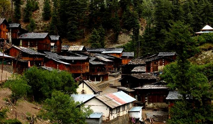 kugti Village in bharmour himachal pradesh